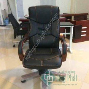 Mẫu ghế văn phòng ngả lưng bọc da cao cấp