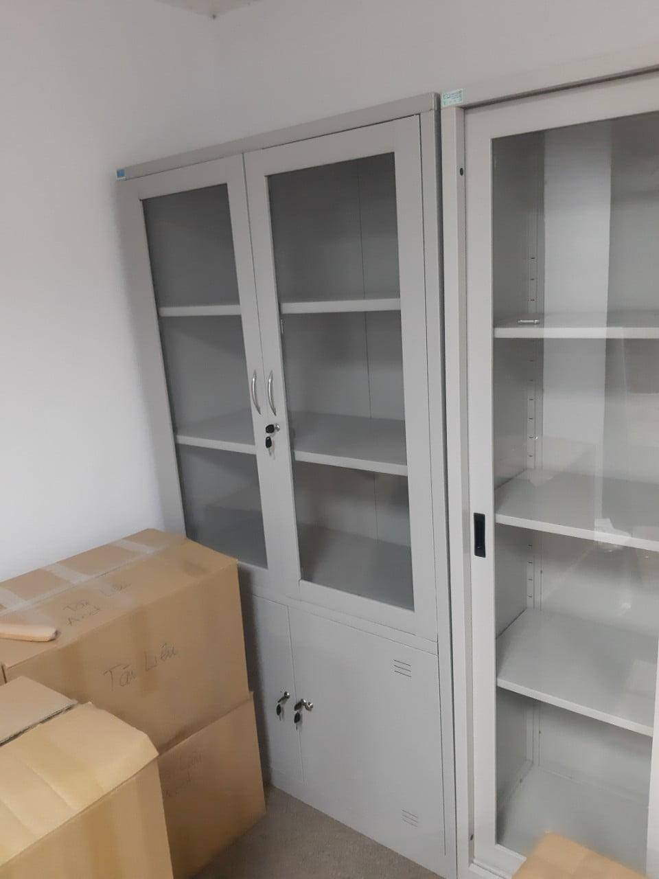 Thanh lý tủ văn phòng Hà Đông mới 100% giá rẻ nhất