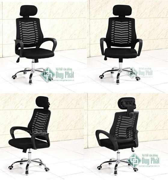 Các mẫu ghế văn phòng có tựa đầu chống mỏi cổ chất lượng