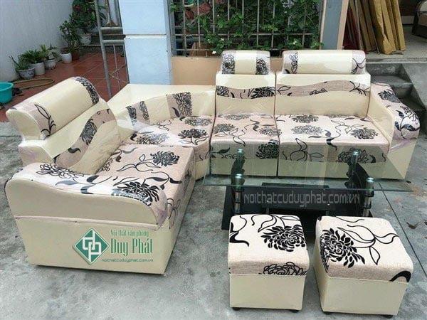 Mẫu sản phẩm thanh lý sofa Hai Bà Trưng tại Duy Phát
