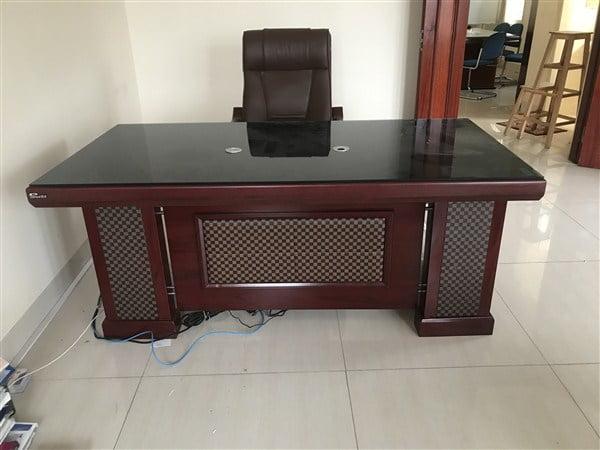 Mẫu nội thất văn phòng Duy Phát hiện đại thiết kế sang trọng