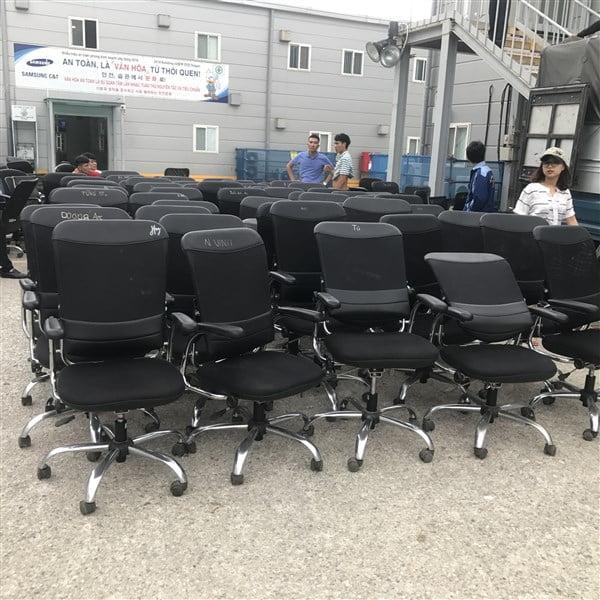 Thanh lý bàn ghế văn phòng Gia Lâm giá rẻ | Tư vấn setup miễn phí