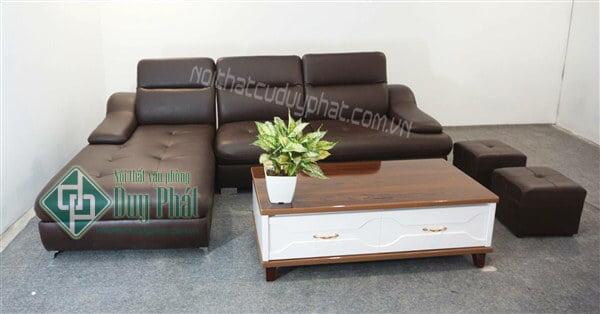 Nên chọn mua sofa da hay sofa nỉ?