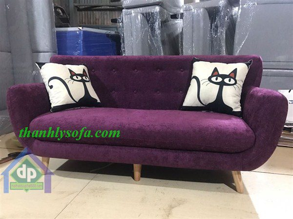 Mẫu sản phẩm thanh lý sofa Thái Nguyên giá rẻ bằng chất liệu nỉ