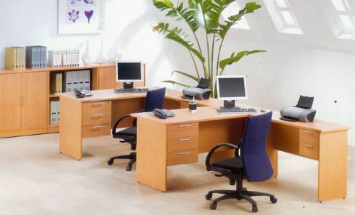 Mẫu bàn ghế văn phòng thanh lý tại Long Biên đẹp