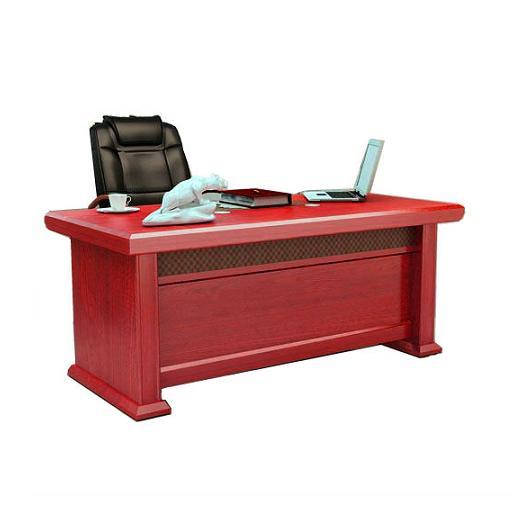 Mẫu 2: Bàn chữ L gỗ tự nhiên thiết kế thêm ngăn tủ đựng tài liệu phía sau tiện lợi