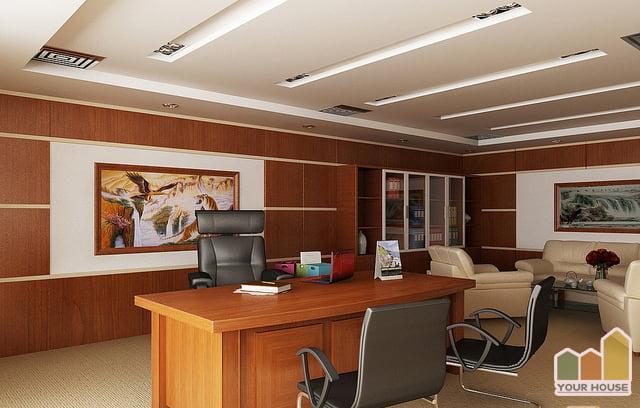 Trang trí nội thất văn phòng đẹp hiện đại không gian tiện nghi nhất
