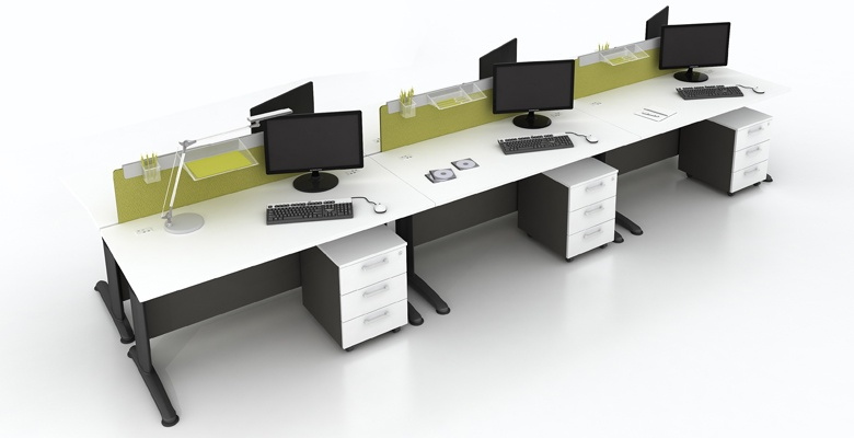 Các mẫu bàn làm việc nhóm hiện đại được thiết kế ấn tượng