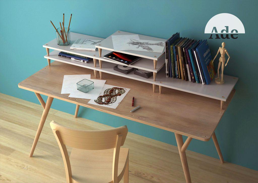 Những mẫu thiết kế bàn làm việc Độc Đáo và Sáng Tạo khơi nguồn cảm hứng