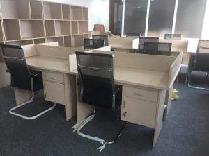 Thanh lý bàn ghế văn phòng tại Đống Đa giá rẻ chất lượng tốt nhất