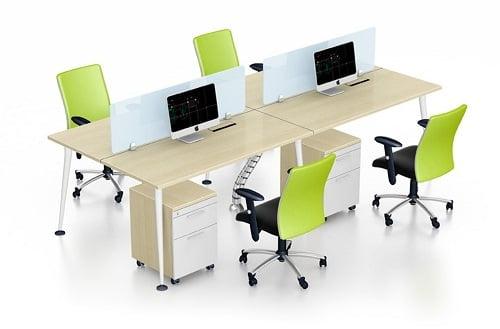 Mẫu thiết kế nội thất văn phòng làm việc hiện đại và sáng tạo 2019