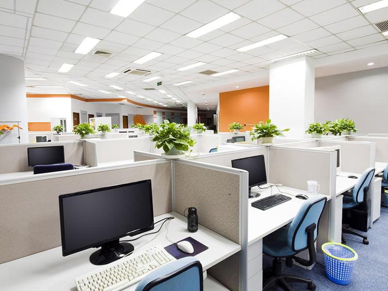 Mẫu nội thất văn phòng Duy Phát hiện đại