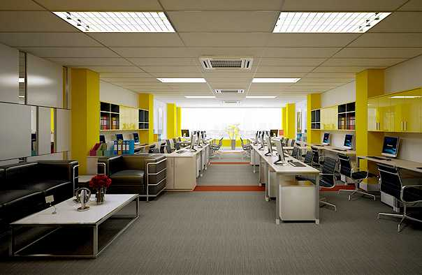Một số mẫu thiết kế nội thất văn phòng Hưng Yên