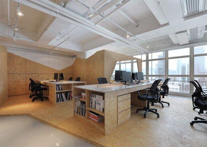 Mẫu thiết kế văn phòng số 1
