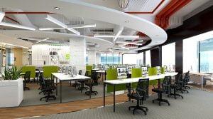 Một số mẫu thiết kế và thi công nội thất văn phòng theo hướng hiện đại