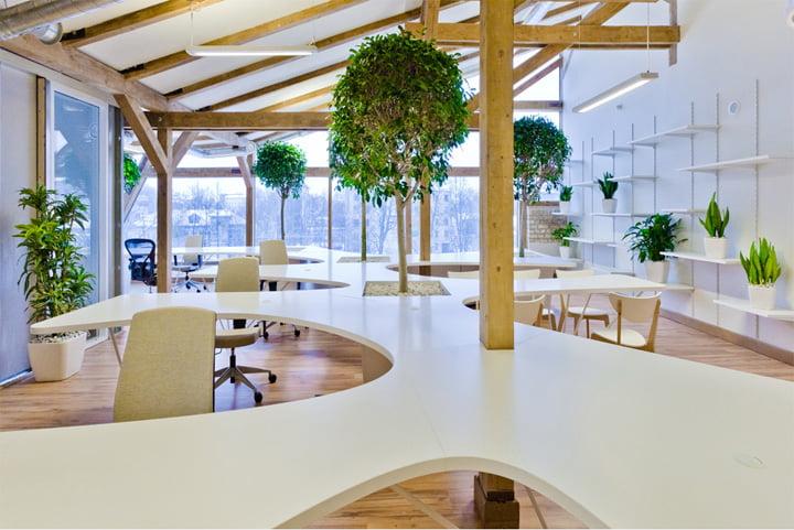 Mẫu thiết kế văn phòng số 6