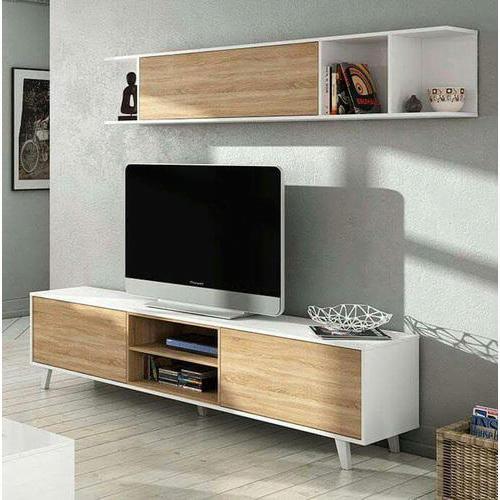 Một số mẫu kệ trang trí tivi với thiết kế ấn tượng