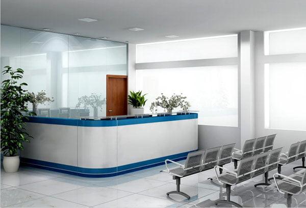 Cách lựa chọn và bố trí quầy lễ tân bệnh viện