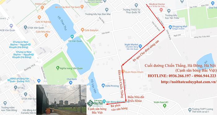 Bản đồ địa chỉ nội thất Duy Phát