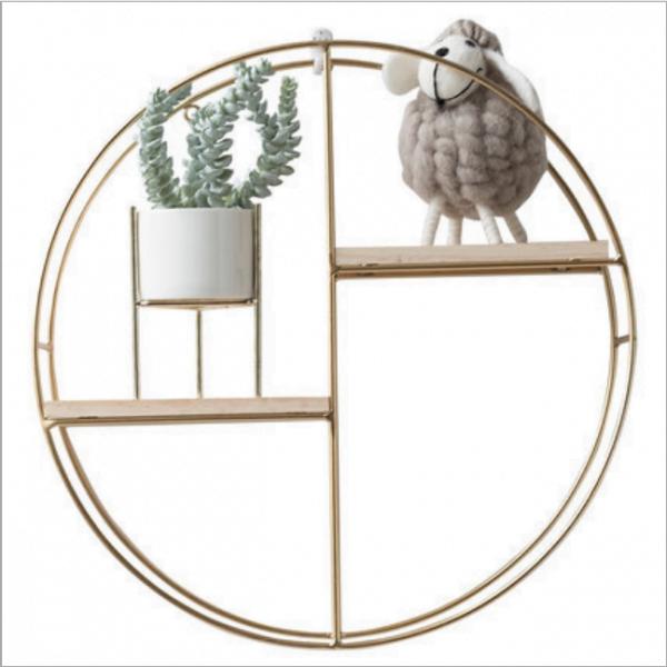 Những mẫu kệ trang trí 2 tầng thiết kế đơn giản