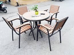 Địa chỉ bán bàn ghế cafe Hà Nội giả rẻ phong cách độc đáo