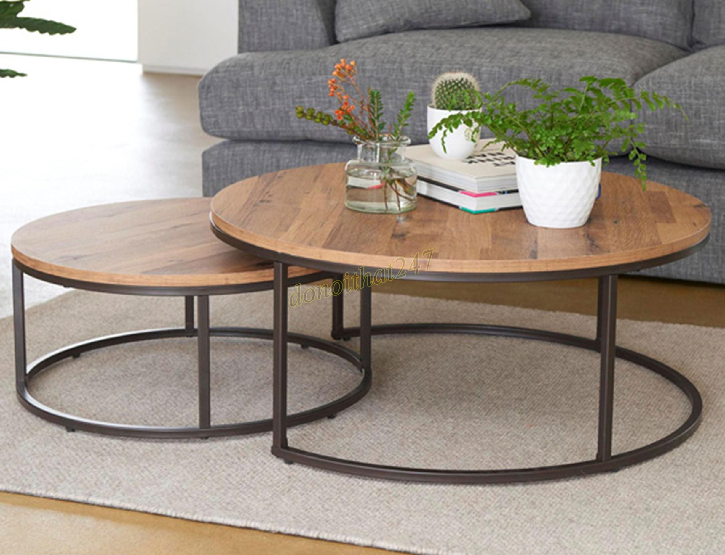 Mẫu bàn sofa chân sắt cho phòng khách được yêu thích nhất