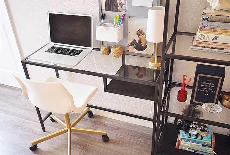 Các ý tưởng trang trí bàn làm việc đẹp thu hút mọi ánh nhìn