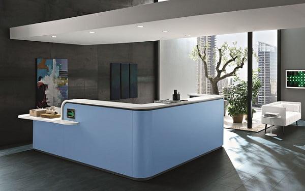 Các mẫu thiết kế quầy Reception Đẹp cho không gian sang trọng